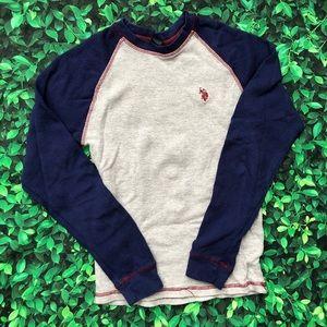 🜁 U.S. Polo Assn. tee | boy | 10-12 | long sleeve
